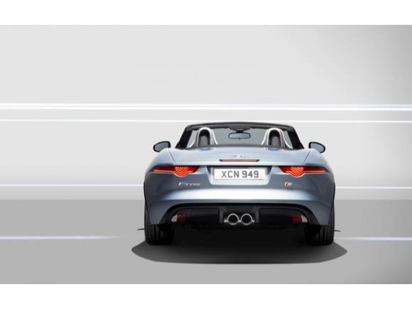 Jaguar F-Type en el Salón de París 2012