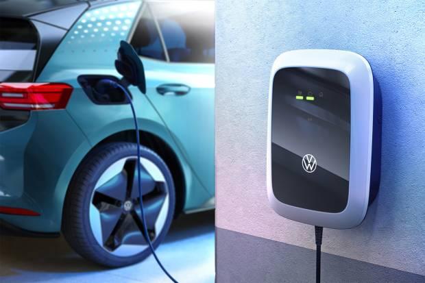 Volkswagen lanza sus cargadores eléctricos económicos