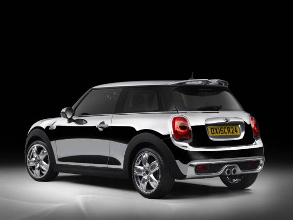 MINI Chrome Line Exterior Deluxe: la