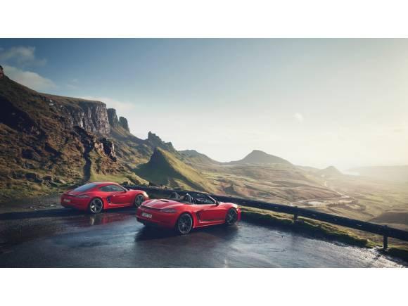 Porsche 718 T: conducción deportiva en estado puro