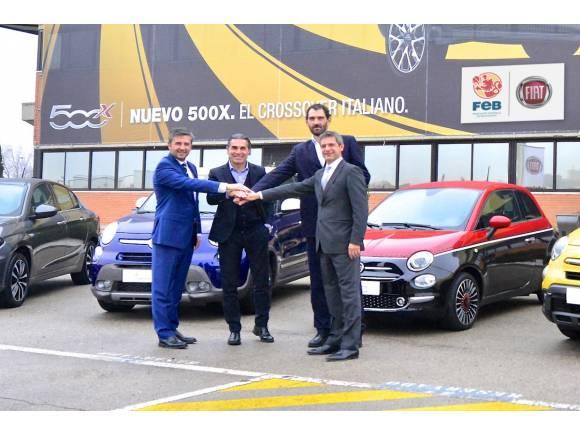 Fiat nuevo patrocinador de la Selección Española de Baloncesto