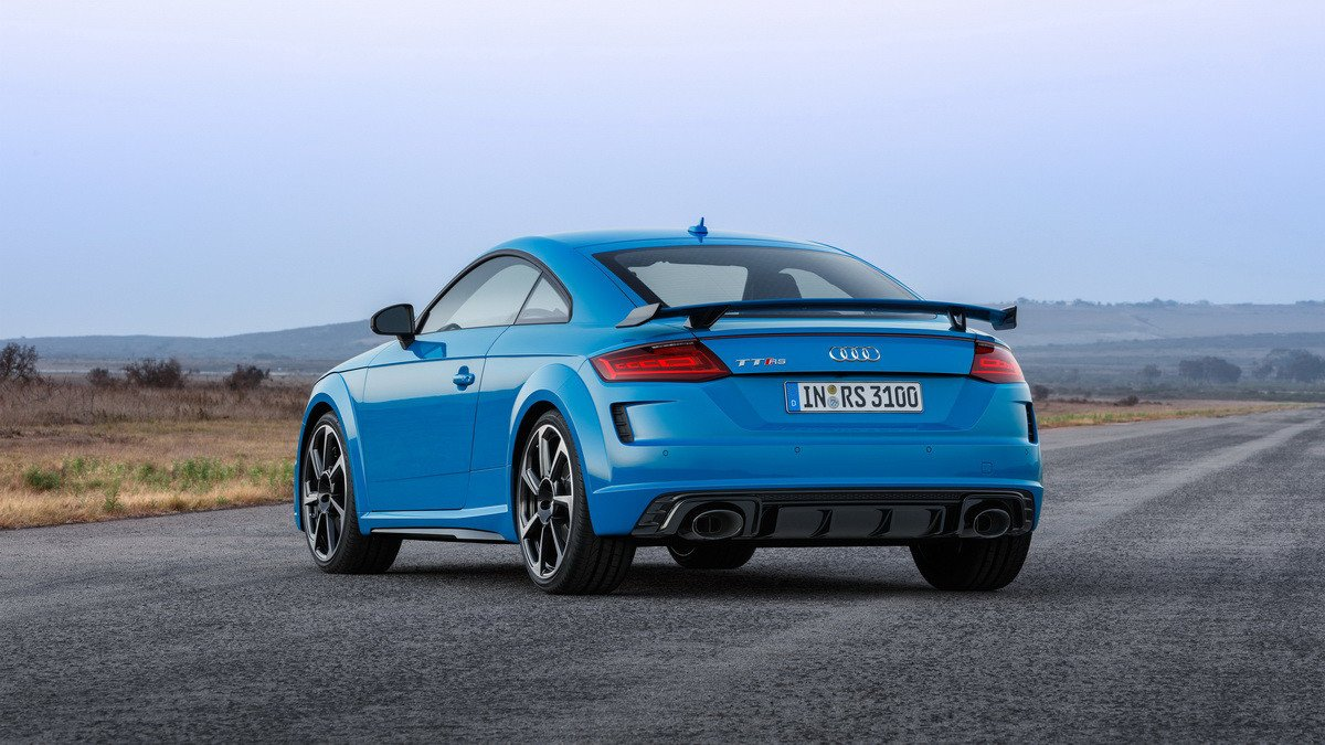 Nuevos Audi TT RS Coupé y TT RS Roadster