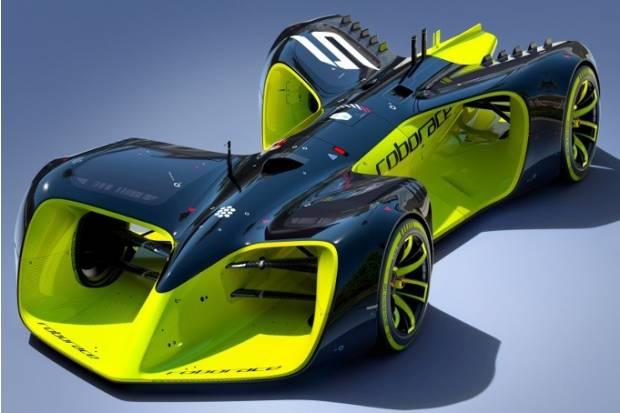 Roborace, presentado el fórmula de carreras sin piloto
