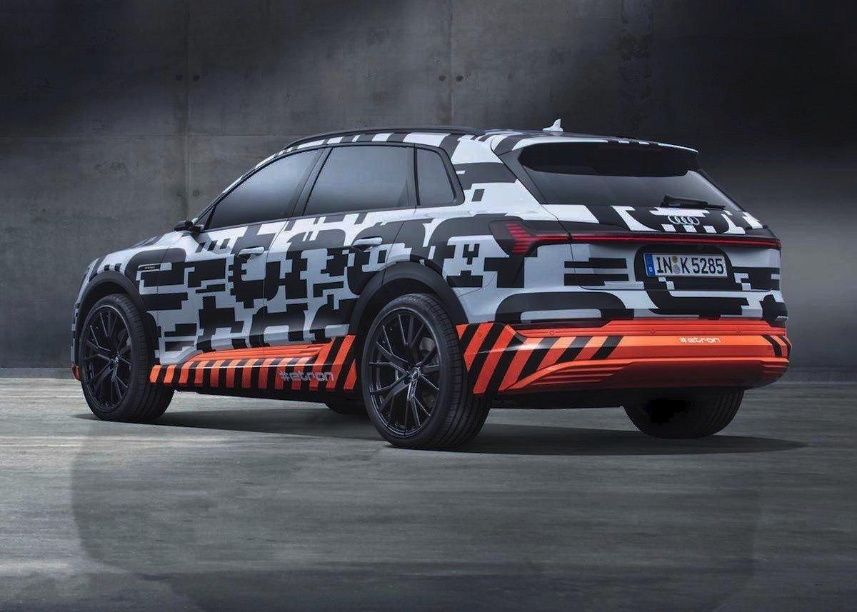 Audi e-tron 2019 eléctrico