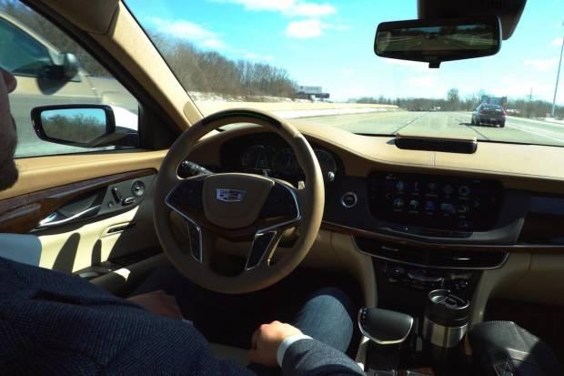 Cadillac CT6 a la venta en EEUU con conducción autónoma
