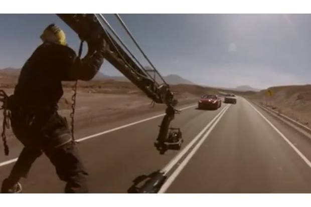 "Vídeo: Jaguar F-Type ""Desire"", The Making Of"