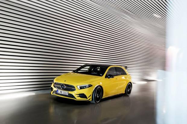 Nuevo Mercedes-AMG A 35 4MATIC, el AMG más pequeño