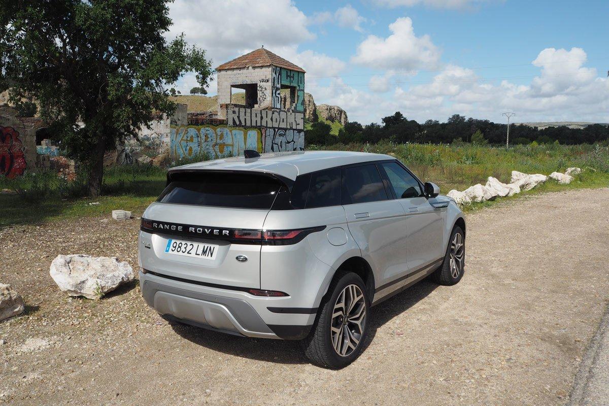 Prueba Range Rover Evoque PHEV