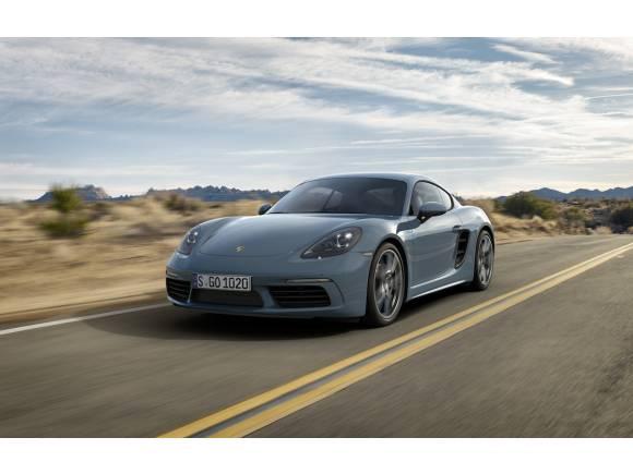 Nuevo Porsche 718 Cayman, con motor turbo