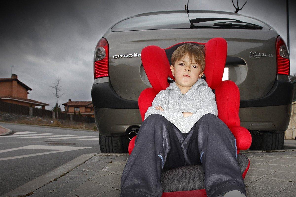 donde colocar silla infantil