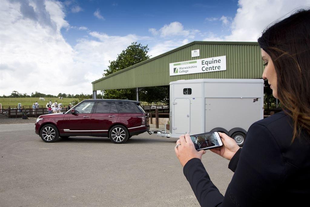 Land Rover remolque