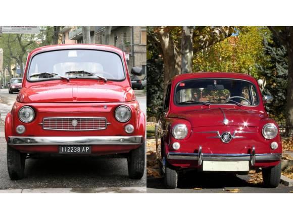 Fiat 500 vs Seat 600