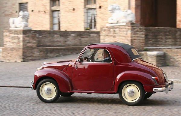 El Topolino precedió en las calles de Italia al FIat 500