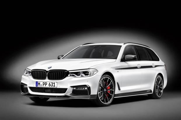 Nuevas piezas M Performance para el BMW Serie 5 Touring
