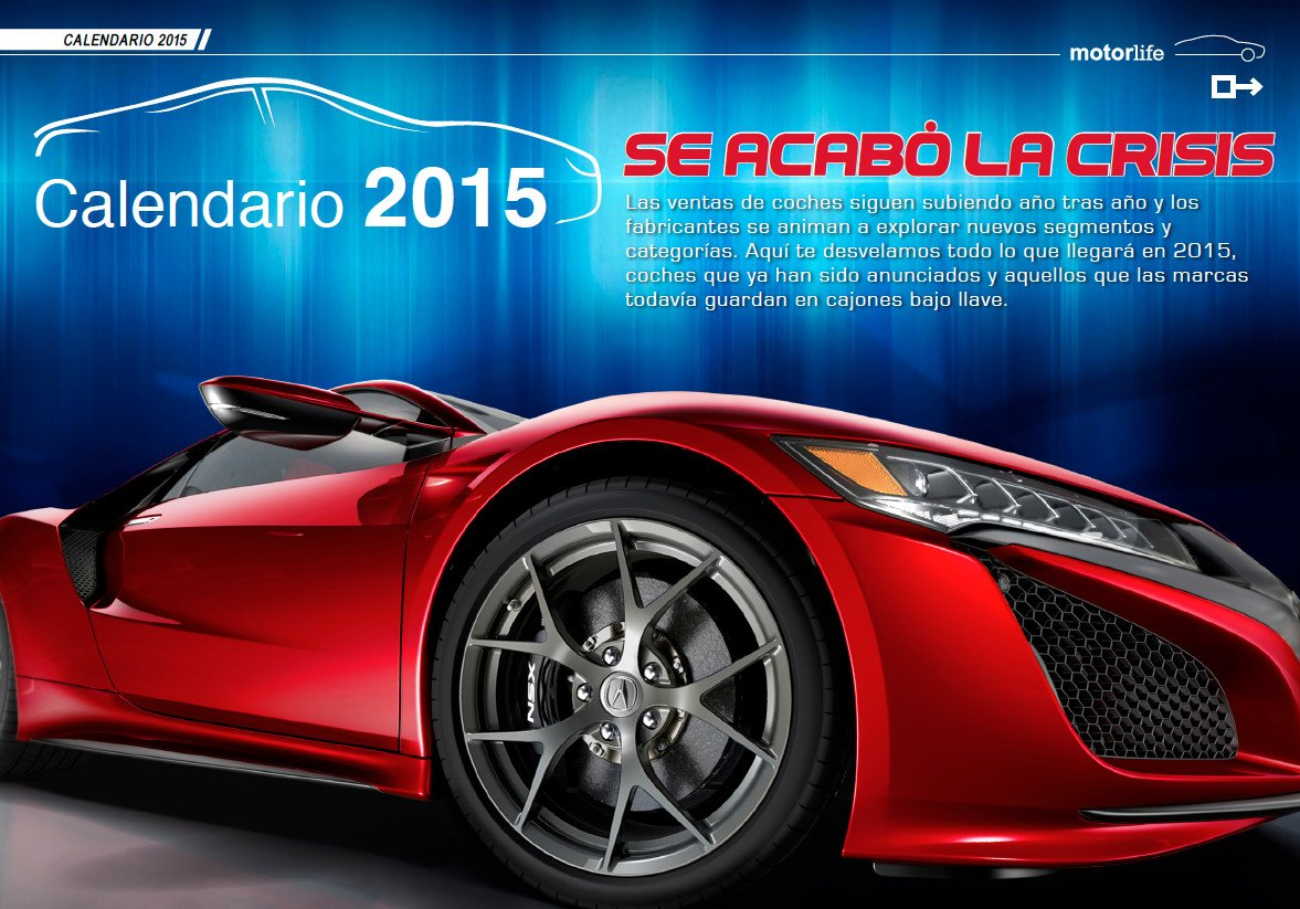MotorLife Magazine nº47: Coches Nuevos 2015