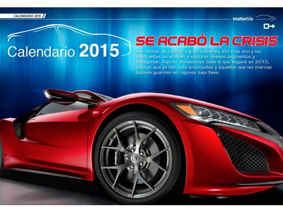 Todos los coches nuevos para 2015
