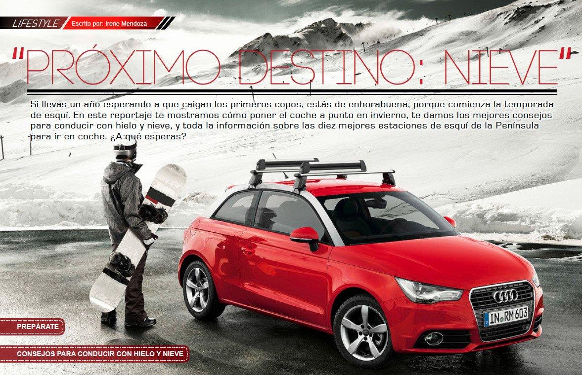 MotorLife Magazine nº47: Land Rover Discovery Sport: Conducir en nieve