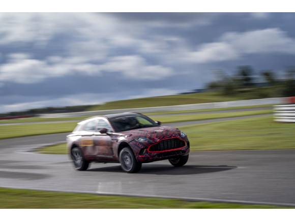Nuevos datos del motor del próximo Aston Martin DBX