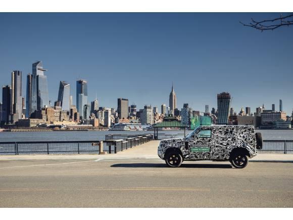 Avance nuevo Land Rover Defender 2020