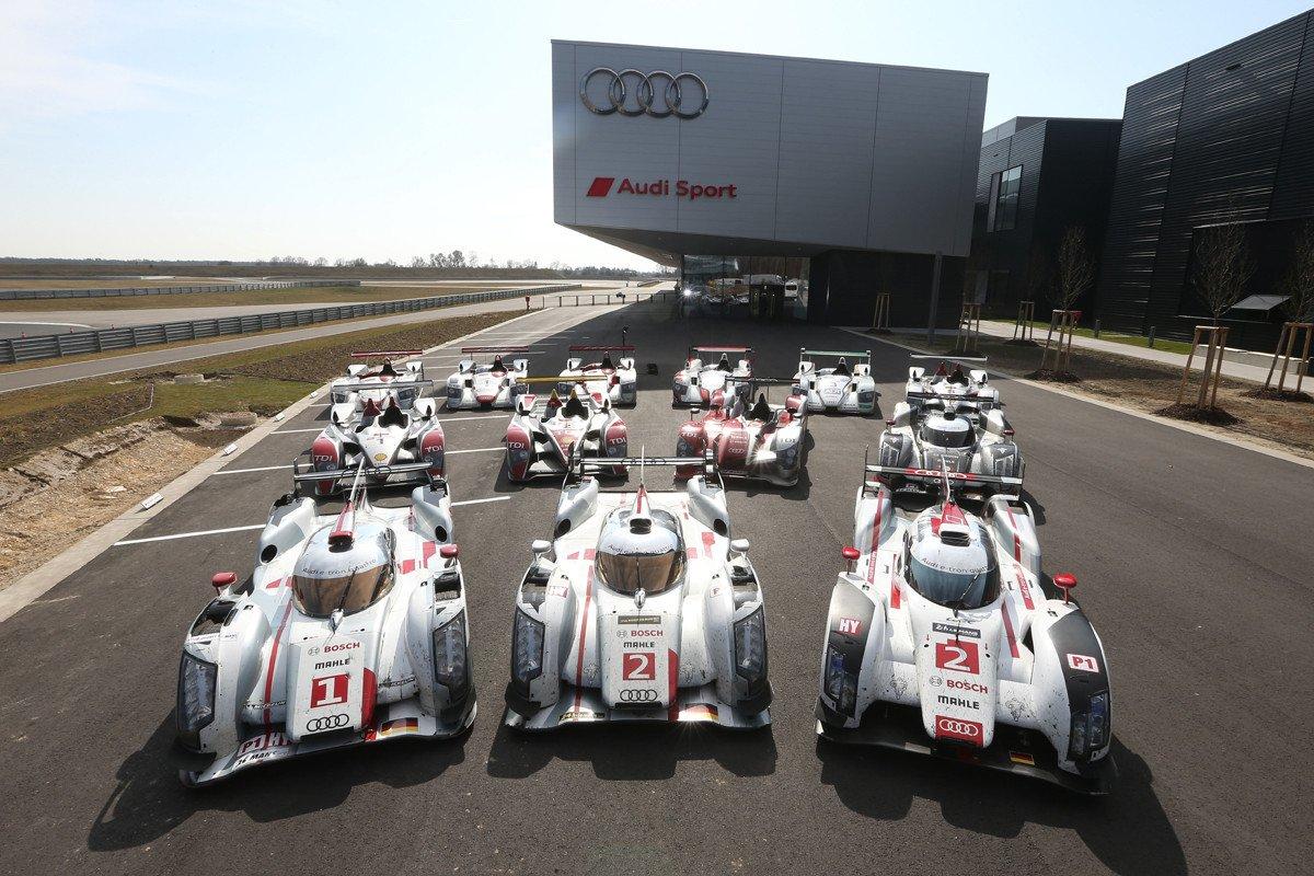 Ganadores Audi Le Mans