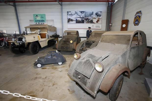 Conservatorio Citroën, un paseo por la historia del fabricante francés