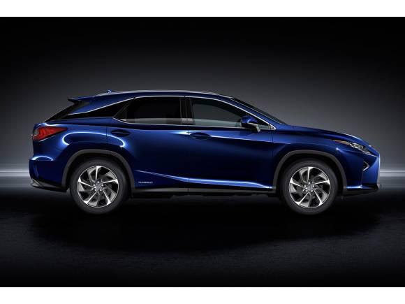 El nuevo Lexus RX llegará en 2016 por 63.200 euros