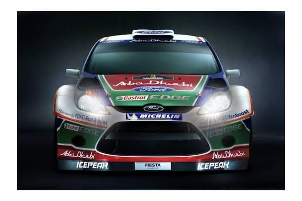WRC: Nuevo Ford Fiesta RS, preparado para el 2011