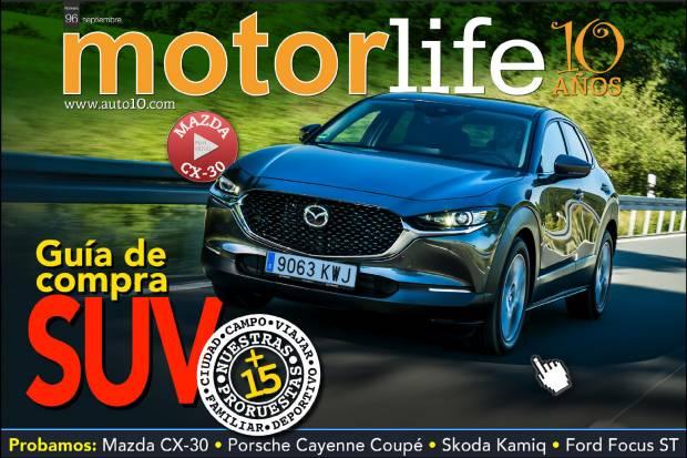 Ya disponible el nª 96 de MOTORLIFE MAGAZINE revista de motor gratuita