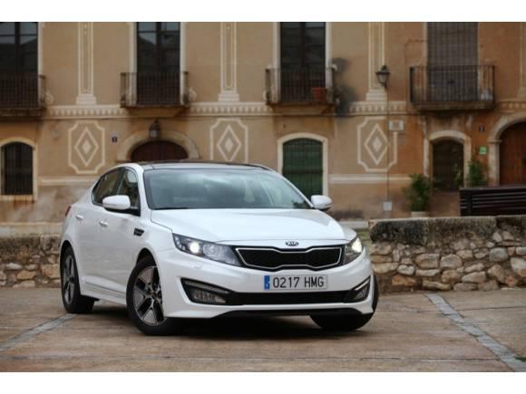 Prueba: Kia Optima Hybrid