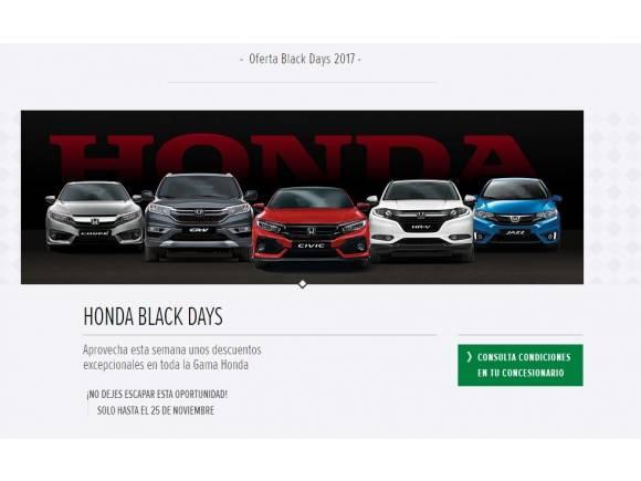 Todas las ofertas de coches para el Black Friday 2017