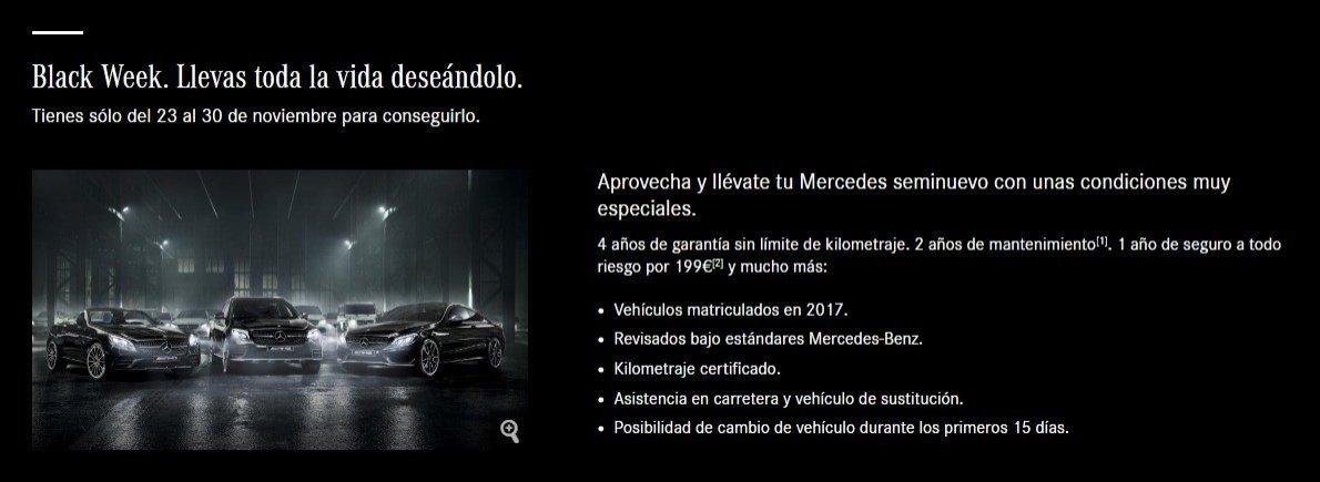 Mercedes Black Friday