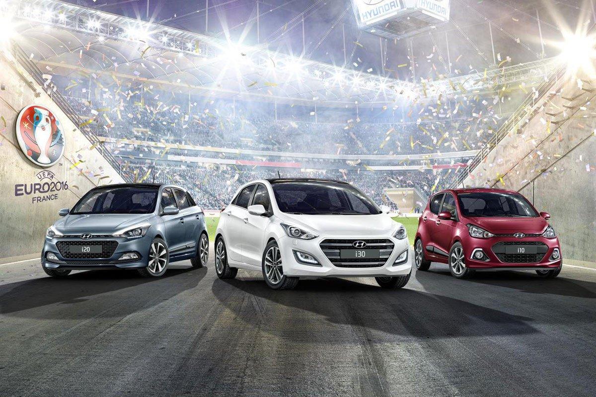 Hyundai i10, i20 y i30