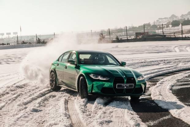 Vídeo: el BMW M3 se divierte con Filomena en el Circuito del Jarama