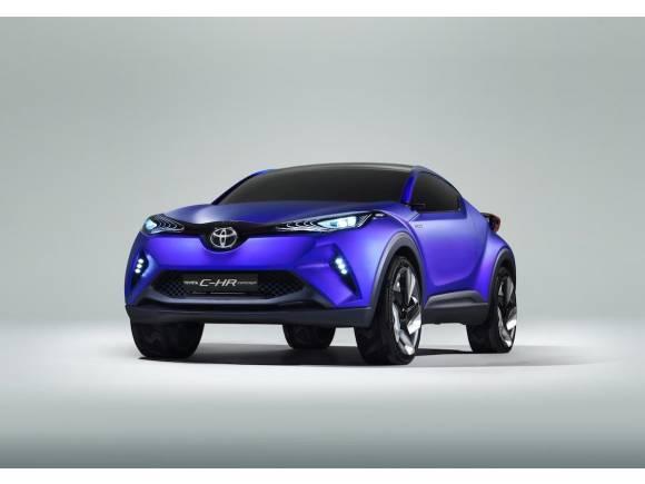 Toyota C-HR Concept, crossover segmento C que conoceremos en París