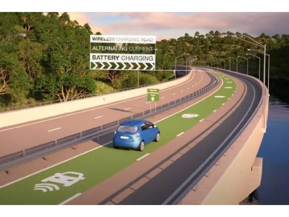 Carga inductiva dinámica: así es la movilidad eléctrica del futuro según Renault