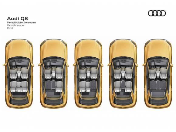 Nuevo Audi Q8, SUV deportivo a lo grande
