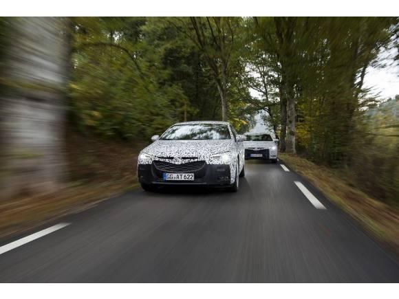 Nuevo Opel Insignia Grand Sport 2017: entrenando para Ginebra