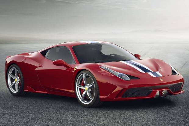 Video: Una vuelta en Fiorano con el Ferrari 458 Speciale