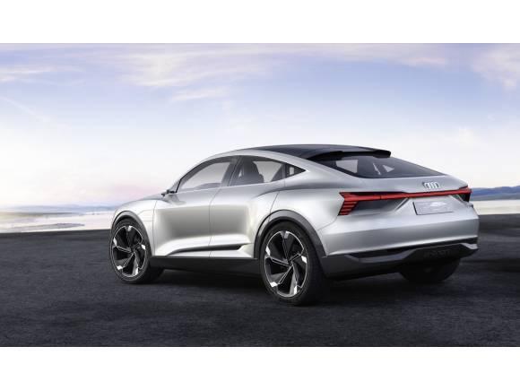 Audi e-tron Sportback concept: el segundo SUV eléctrico de Audi, para 2019