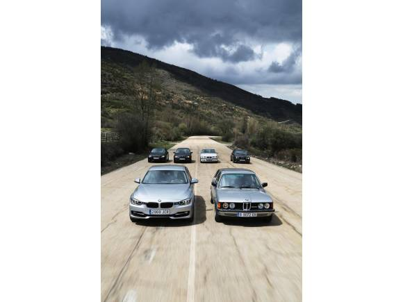 La serie 3 de BMW cumple 40 años