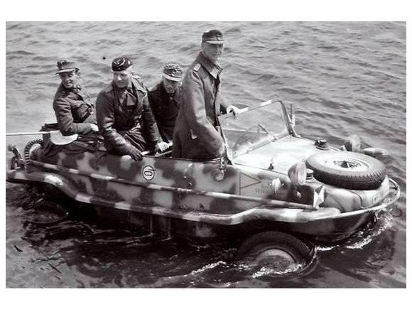 Schwimmwagen: el Porsche anfibio