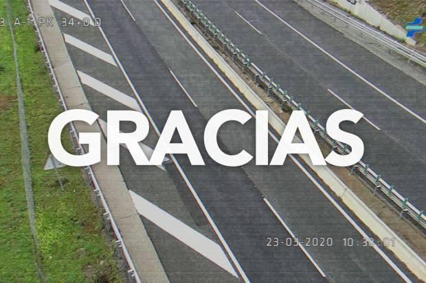 La DGT pide permanecer en casa en su vídeo de Semana Santa