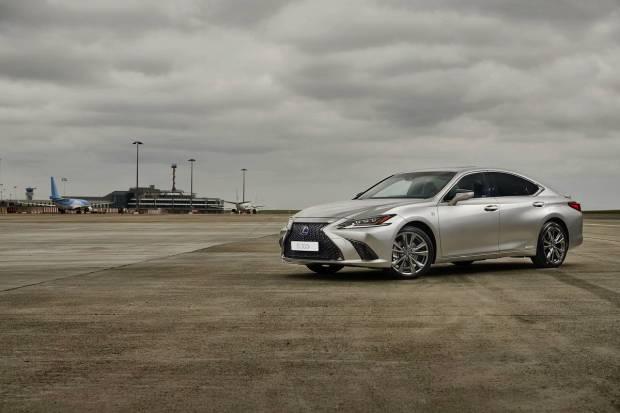 Lexus ES 300h: nuevo sistema híbrido de cuarta generación
