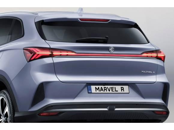 Dos coches eléctricos de una tacada: MG presenta el Marvel R y el MG5 Electric
