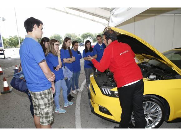 Cómo son los cursos de conducción 'Ford, Conduce tu Vida' 2016