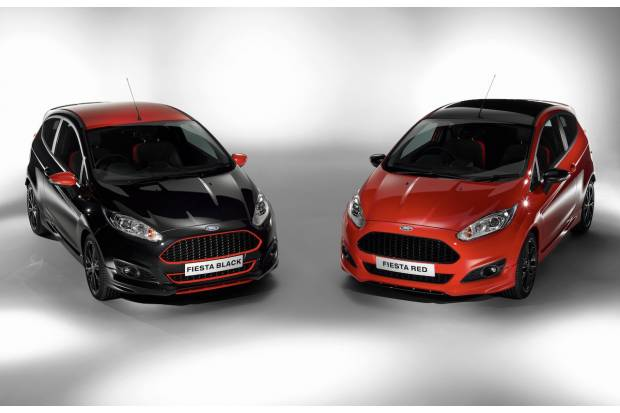 Nuevos Ford Fiesta Red y Black Edition y Focus ST, ya disponibles en España