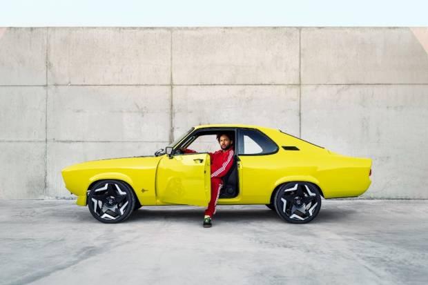 Opel Manta GSe ElektroMOD: todos los detalles de este clásico rediseñado