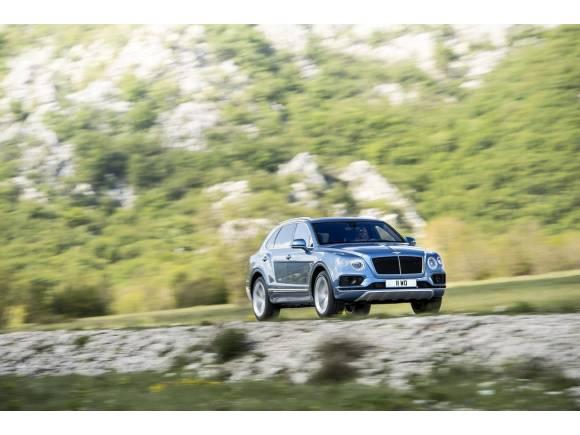 Bentayga Diesel, el primer Bentley de gasóleo