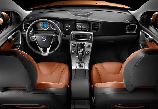 Vista del interior del nuevo Volvo S60