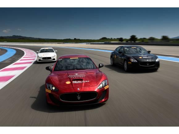 Cursos de conducción Master Maserati 2016: adrenalina, lujo y diversión